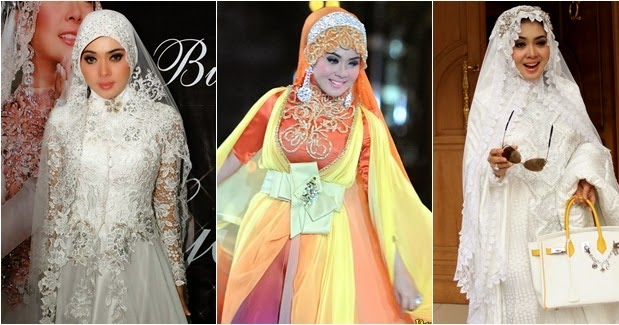 Kumpulan Foto Model Baju Kebaya Dress Ala Syahrini - Trend ...
