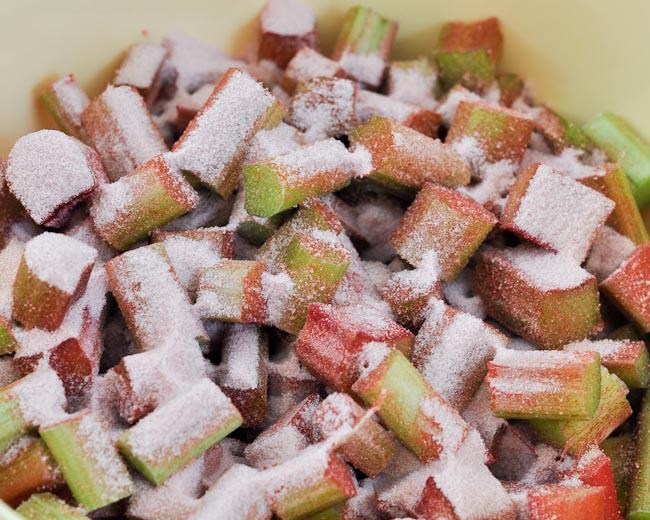 Strawberry Rhubarb Cake Jello