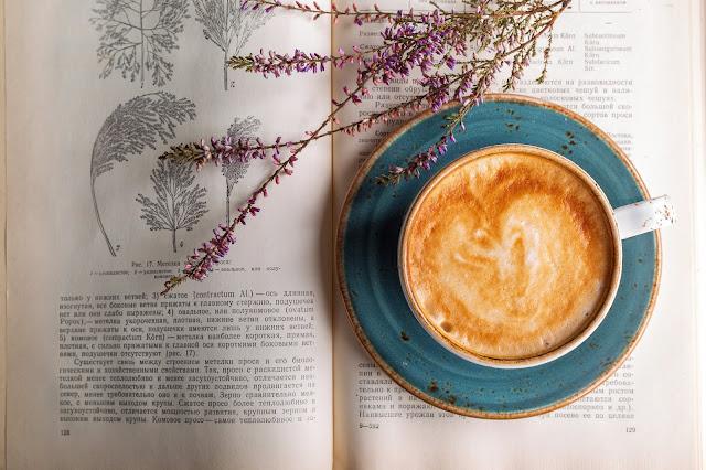 Prepare uma bebida quente para ler