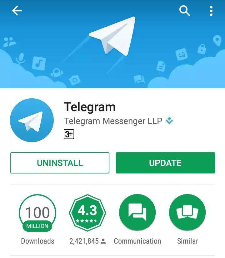 Image result for telegram messenger llp