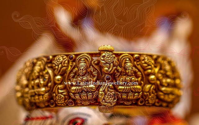 Intricate Lakshmi Kada Bangle