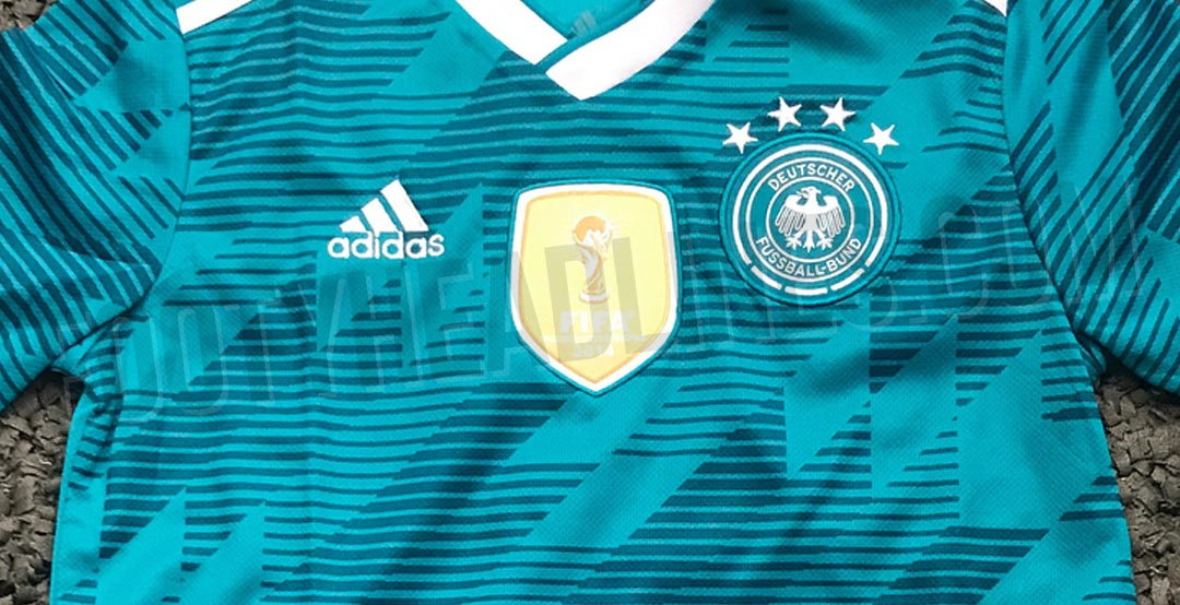 918c86a7b The Germany away kit for the 2018 World Cup introduces a retro-infused look  in  EQT Green . With this move Adidas brings back the easily most  recognizable ...