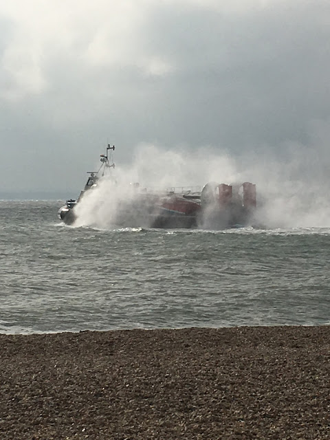 hovercraft Southsea, UK