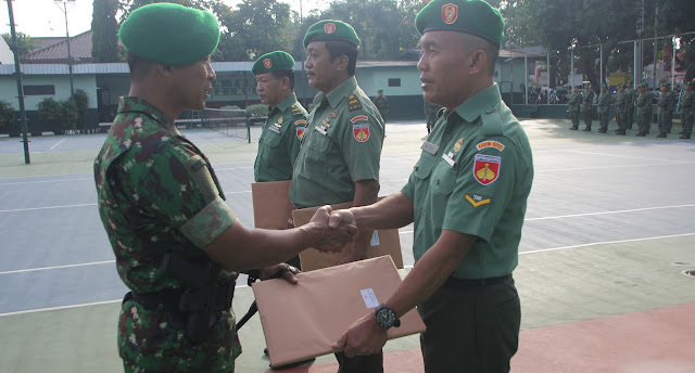 Prajurit TNI Yang Pensiunan, Jiwa Dan Raganya Tetap Tertanam Sapta Marga