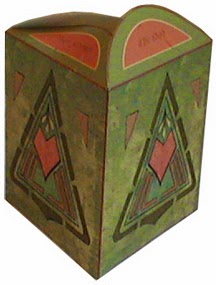 Nice Original Free Printable Triangular Boxes