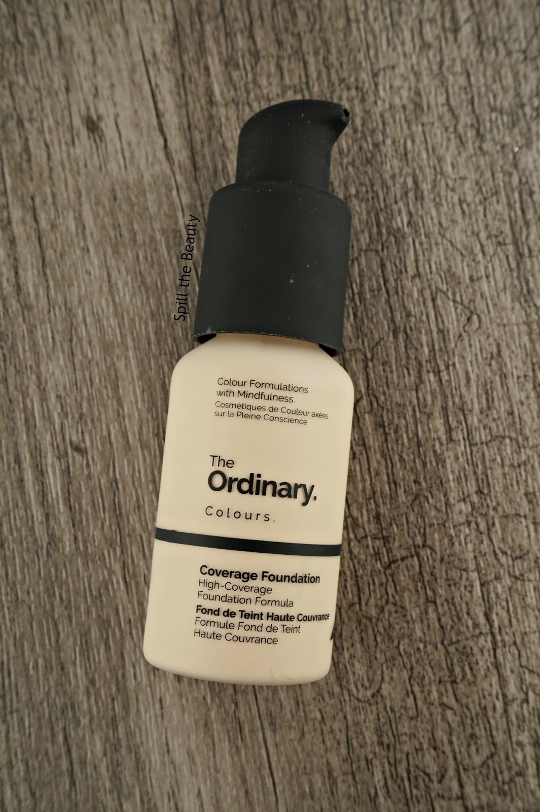 deciem the ordinary deciem high coverage foundation 1.0 s very fair review swatches comparison urban decay