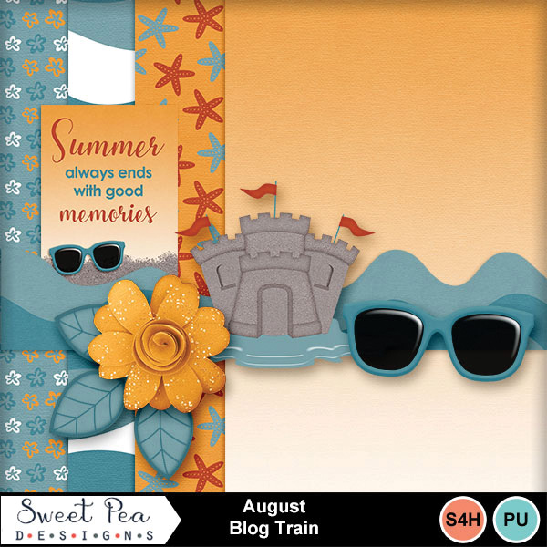 The August My Memories Blog Train is here!