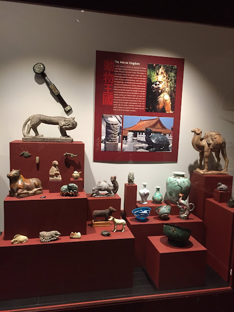 Artifacts from China at the Milwaukee Public Museum