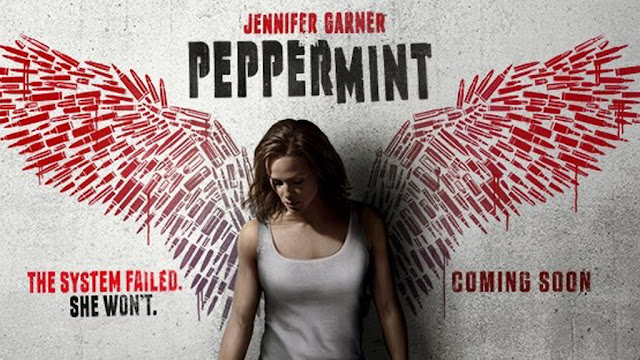 Peppermint 2018 Movie poster HD