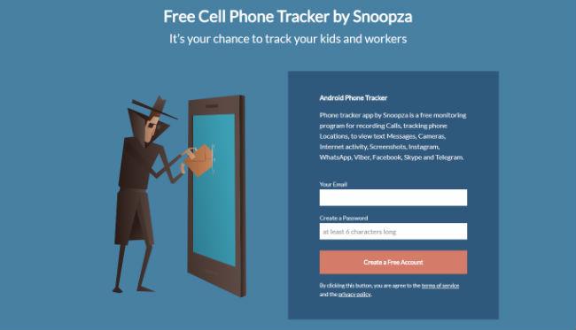 Snoopza: تعقب الهاتف الاندرويد  مجانا للتجسس على أطفالك والعمال
