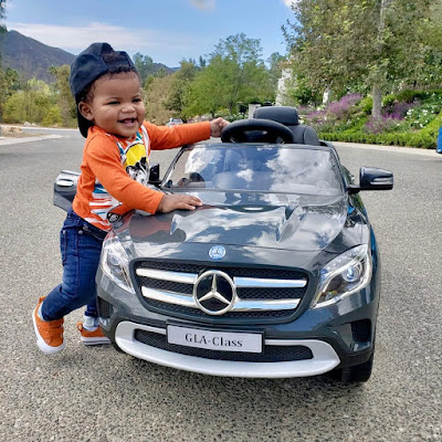 Adorable photos of Kevin Hart's son Kenzo
