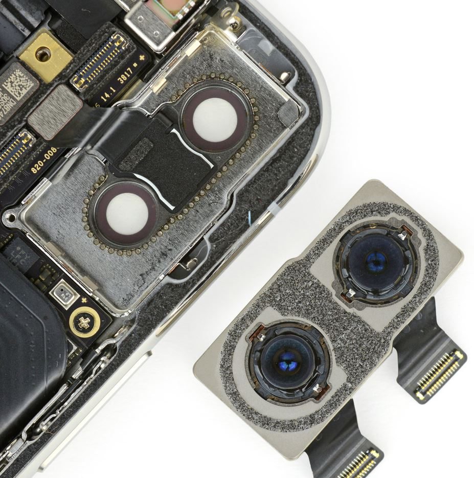 Image Sensors World: iPhone X Teardown