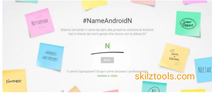 Google Gives You The Chance To Name The AndroidN