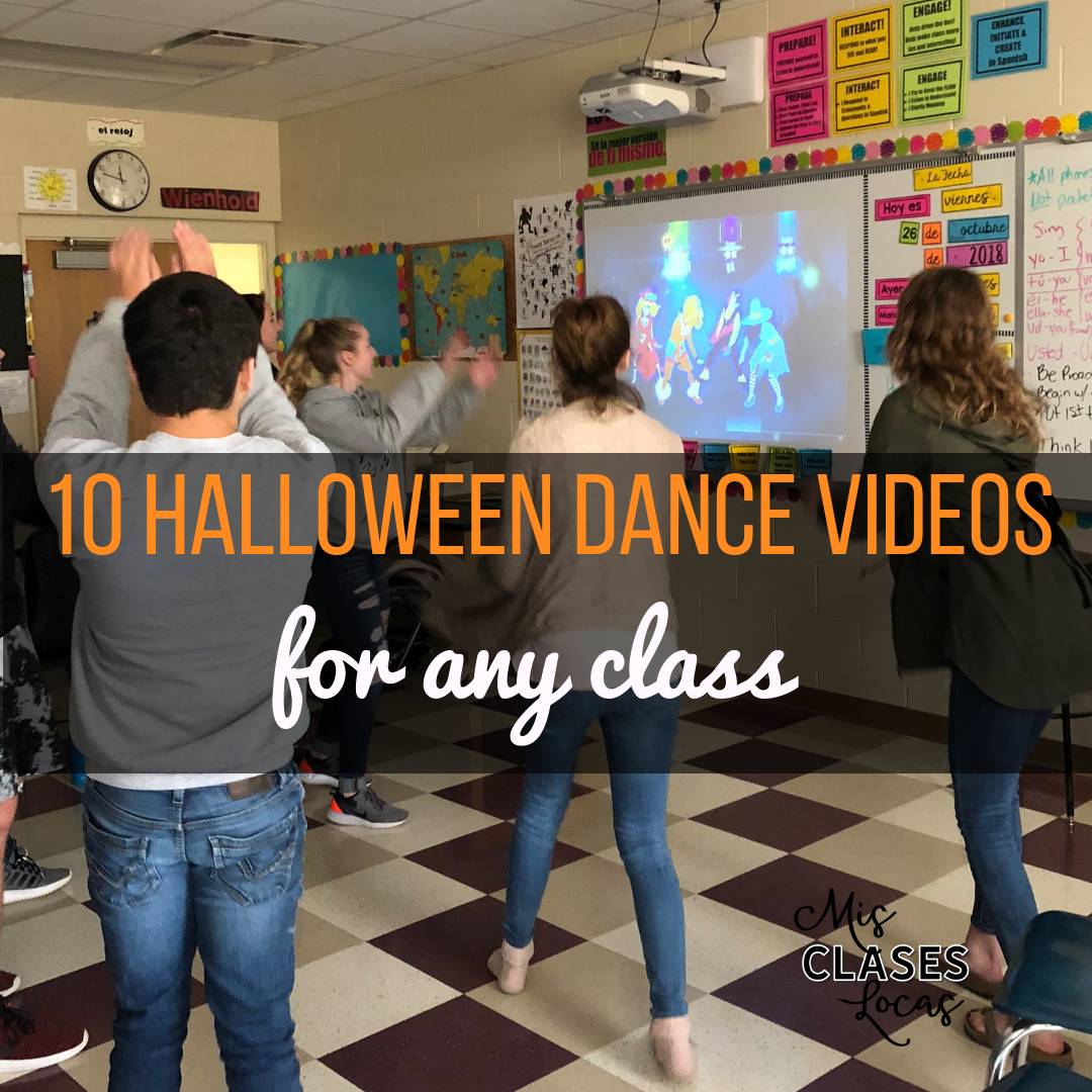 Quick Tip: 10 Halloween dance videos for any class - shared by Mis Clases Locas