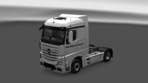 Mercedes MP4 Daily Shipping Skin