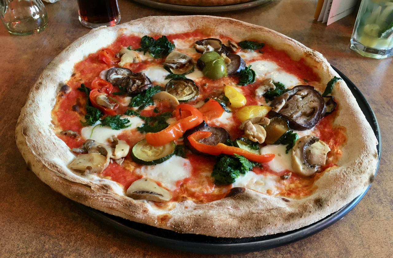 Places to eat in Liverpool - Crust pizza