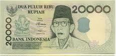 Ki Hajar Dewantara pada uang kertas pecahan Rp20.000