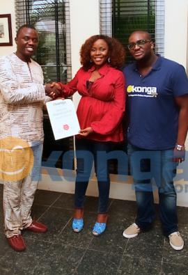 Singer Omawumi becomes brand ambassador for Konga.com