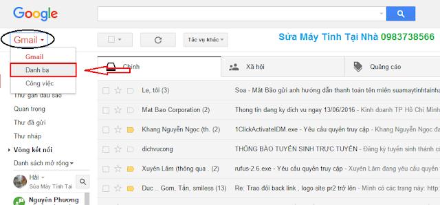 Thêm địa chỉ maill mới vào Gmail - H03