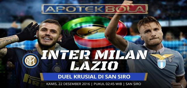 Prediksi Pertandingan Inter Milan vs Lazio 22 Desember 2016
