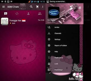 Download BBM MOD HELLO KITTY Apk