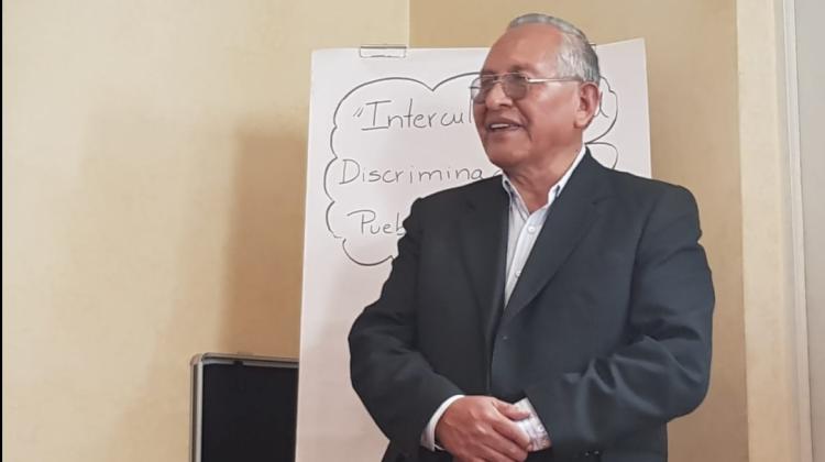 Cárdenas es considerado unos de los principales intelectuales aymaras del país / ARCHIVO ANF