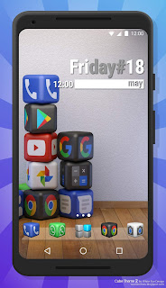 Cube Theme 2 Icon Pack - Screen1