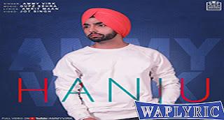 Hanju Lyrics | Ammy Virk | Punjabi Song