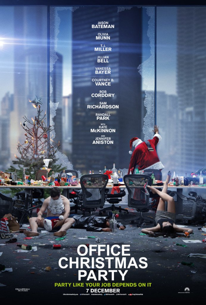 Office Christmas Party 2016 Movie Free Download 720p BluRay