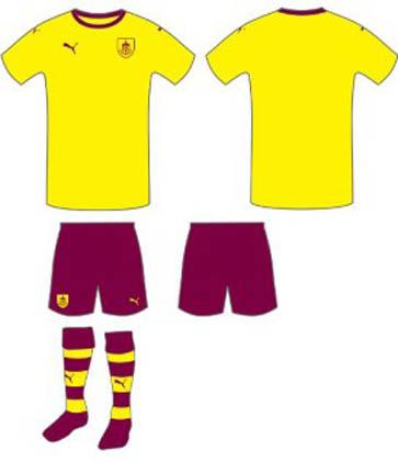 Puma Burnley FC 2015-16 Away Kit Vote Results - Footy ...