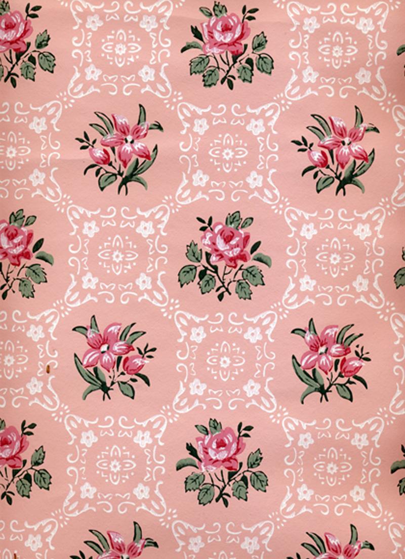 Sabryllina's: I love vintage wallpaper...  Sabryllina'...