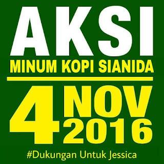 Aksi 4 November penolakan Ahok