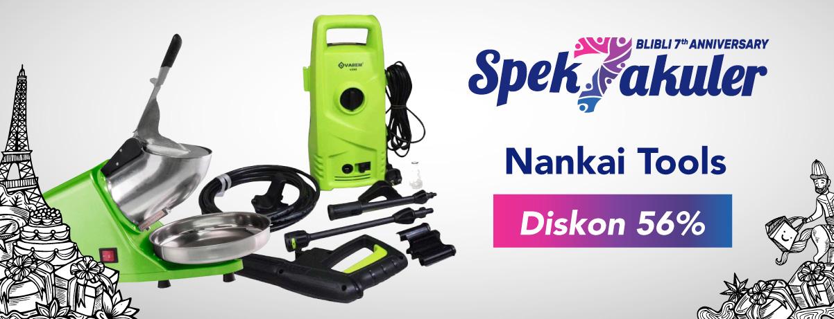 BliBli - Promo Diskon s.d 56 % Produk Nankai Tools
