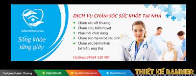Thiết kế banner ngành dược chuyên nghiệp
