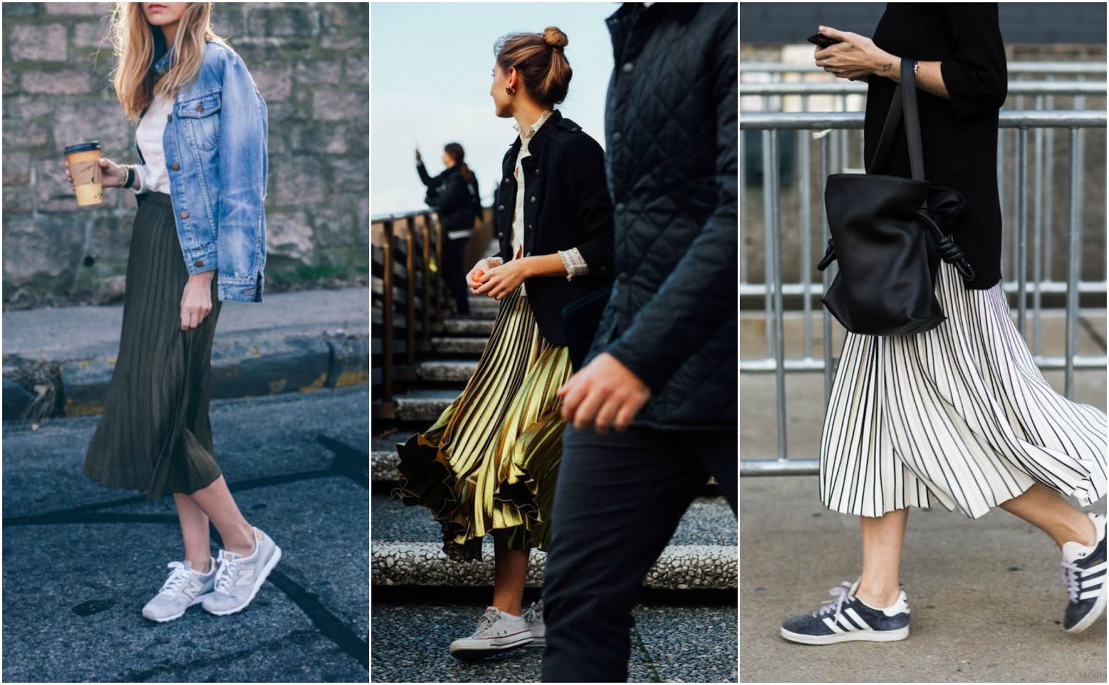 b35b6dc129 I have this thing with pleated midi skirts........... | A Stylish Something