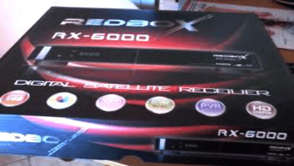 اليكم طريقه ادخال الشفره الى رسيفر REDBOX RX-6000