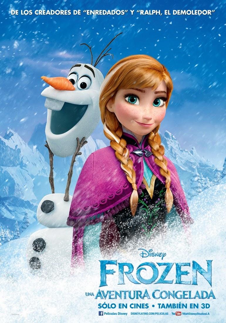 """Nuevos posters de la película """"Frozen: Una Aventura Congelada"""""""