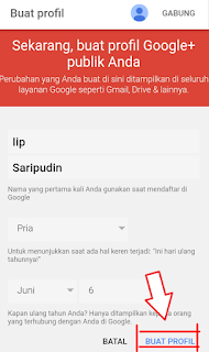 Google plus di pilih sebagai profil blogger