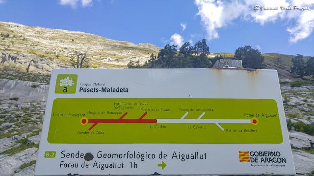 Señalética Sendero S2 - Parque Natural Posets Maladeta por El Guisante Verde Project