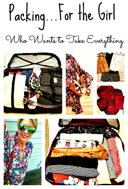 Sweet Parrish shares packing tips for travel and vacations.