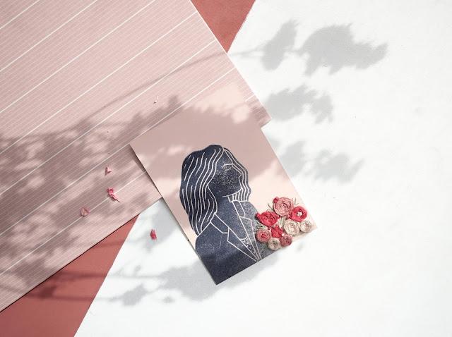 Les gravures brodées - Marion Romain