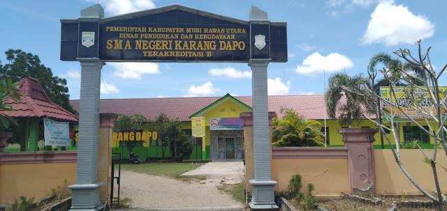 UNBK SMA Karang Dapo Dipertanyakan
