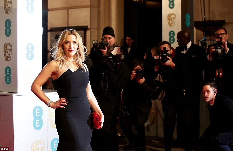 Kate Winslet stuns in a fishtail gown at the BAFTAs 2016