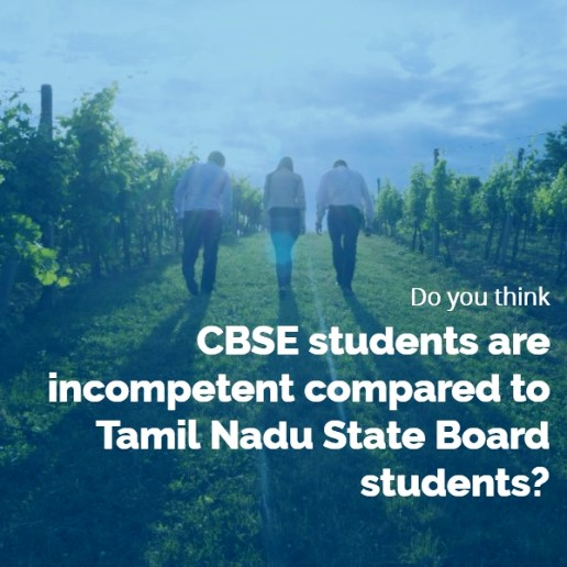 CBSE students performance in Tamil Nadu MBBS Admission