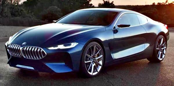 Serie 8 Concept de BMW: diseño y tecnología del futuro