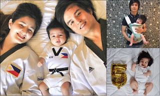 """""""My future world and olympic champion ready to fight!"""" Meet Japoy Lizardo's Adorable Son Baby Jace"""