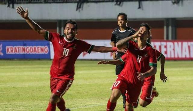 Indonesia kalahkan Singapura dengan skor 2-1