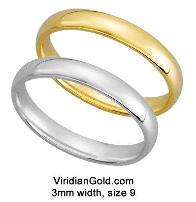 Hollow Tubular v s Solid Wedding Rings