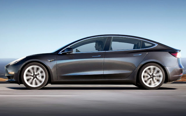 Tesla Model 3 x VW ID.3