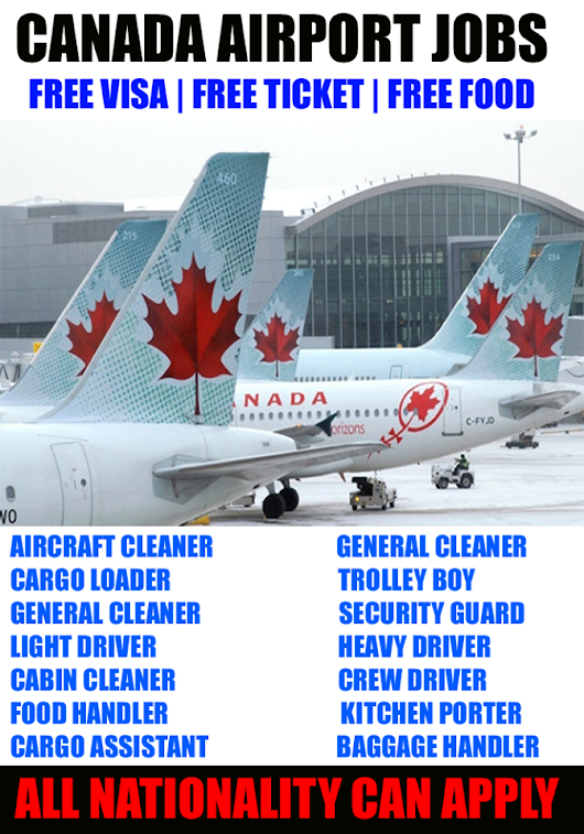 Airport Jobs in Canada - Apply Now